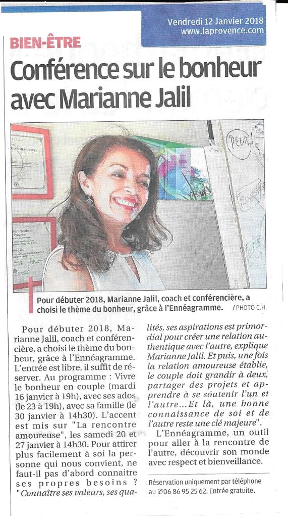 article-la-provence-janvier-2018